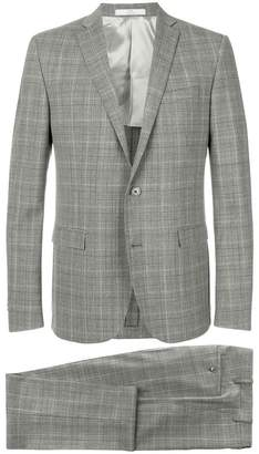Corneliani plaid suit