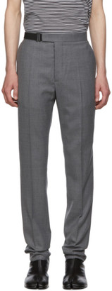 Maison Margiela Grey Wool Trousers
