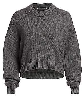 Alexander Wang Women's Zipper-Trimmed Sweater