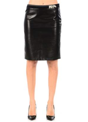 Prada Close-fitting Knee Skirt