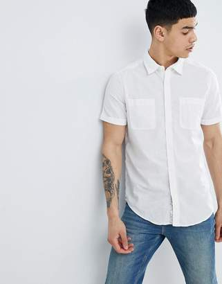 at ASOS · Esprit Regular Fit Shirt In Cotton Linen Blend