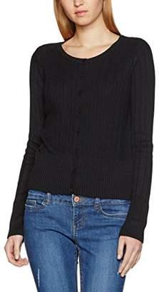 Vero Moda Women's Vmnanne Ls O-Neck Noos Cardigan,(Manufacturer Size: X-Small)