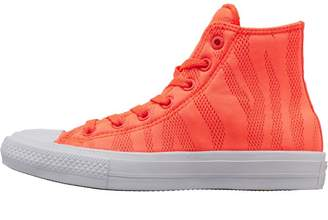 37d383cd7f2f Converse Chuck Taylor All Star II Speciality Hi Trainers Orange White