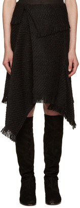 Isabel Marant Black Idini Skirt $480 thestylecure.com