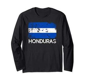 Honduran Flag T-Shirt | Vintage Made In Honduras Gift