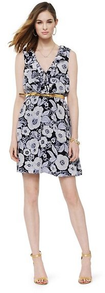 Juicy Couture Vanity Scroll Ruffle Dress