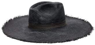 Filù Hats Filu Hats - Koh Samui Toquilla Straw Panama Hat - Womens - Navy