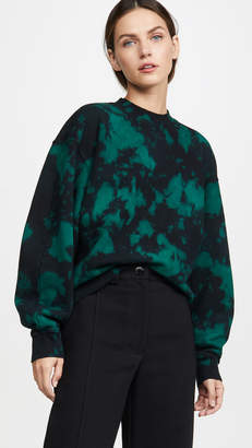 Proenza Schouler PSWL Oversized Tie Dye Sweatshirt
