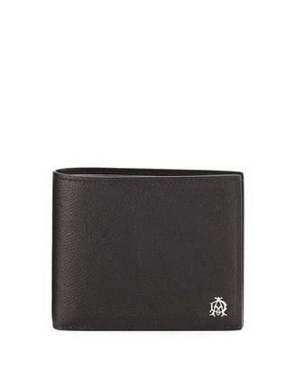 dunhill Cadogan Leather Bi-Fold Wallet, Black $275 thestylecure.com