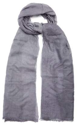 Title Of Work - Solid Cashmere Scarf - Mens - Grey