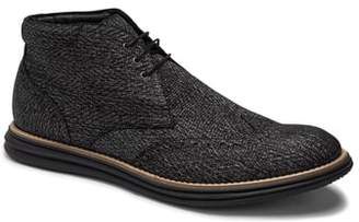 Bugatchi Textured Wingtip Chukka Boot