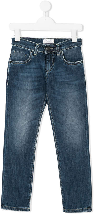 Paolo Pecora Kids straight-leg jeans