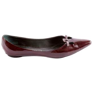 Marc Jacobs Patent Leather Ballet Flats