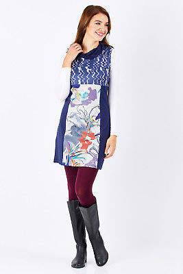 Smash Wear NEW Womens Short Dresses Johanna Dress DarkBlue