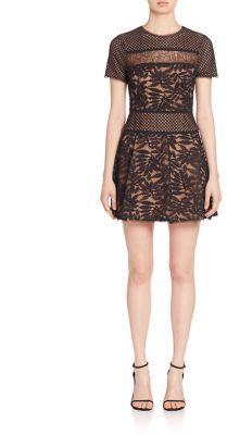 BCBGMAXAZRIABCBGMAXAZRIA Short Sleeve Skirt Dress