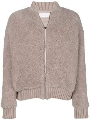 Fabiana Filippi knitted bomber jacket