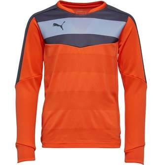 Puma Junior Boys Stadium Goalkeeper Shirt Orange/Black