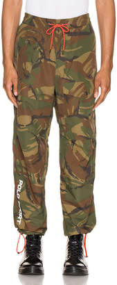 Polo Ralph Lauren Nylon Cotton Blend Pants in Camo | FWRD