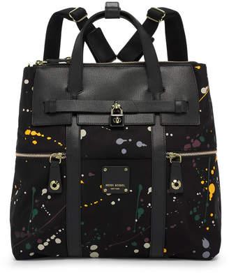 Henri Bendel Jetsetter Convertible Splatter Paint Backpack