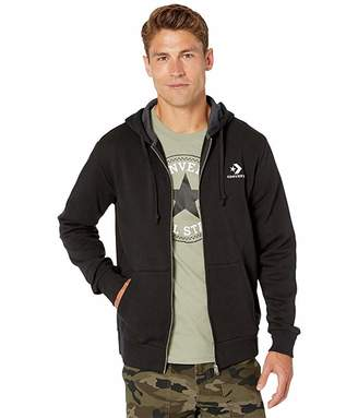 Converse Star Chevron Embroidered Full Zip Hoodie