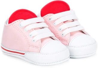 Fendi colour block sneakers