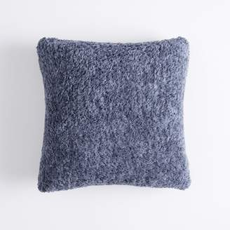 Pottery Barn Teen Cozy Pillow Cover, 18X18, Heathered Faded Navy