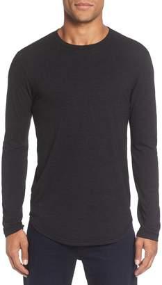 Goodlife Triblend Scallop Long Sleeve Crewneck T-Shirt