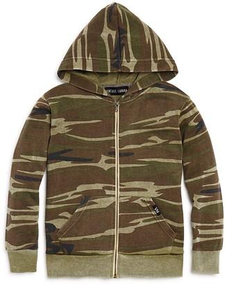 Vintage Havana Boys' Camouflage Zip Hoodie - Big Kid $56 thestylecure.com
