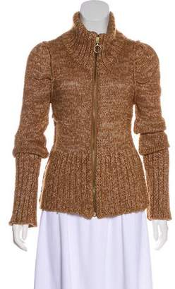 Dolce & Gabbana Knit Zip-Up Cardigan