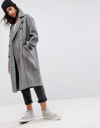 Asos Design Ultimate Check Coat