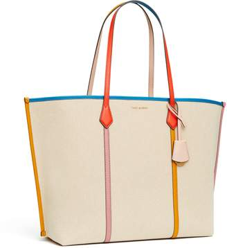 Perry Canvas Oversized Tote