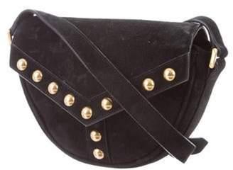 Saint Laurent Y-Studded Crossbody Bag Black Y-Studded Crossbody Bag