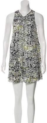 Proenza Schouler Mini Silk Dress