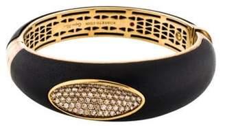 Roberto Coin Diamond & Wood Bangle gold Diamond & Wood Bangle