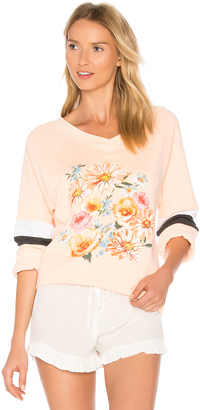 Wildfox Couture Nana's Wallpaper Pullover $108 thestylecure.com