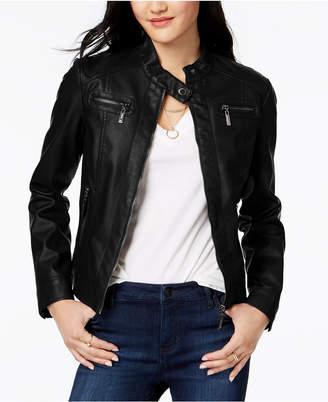 Joujou Jou Jou Juniors' Faux-Fur-Lined Moto Jacket