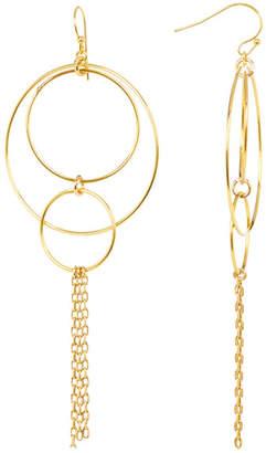 Taolei Hoop & Chain Statement Earrings $22.97 thestylecure.com