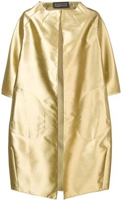Gianluca Capannolo metallic coat