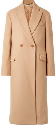 Stella McCartney Wool-twill Coat - Camel