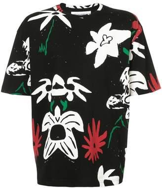 Rochambeau floral printed T-shirt