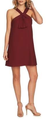 CeCe Briana Pleat Front Shift Dress
