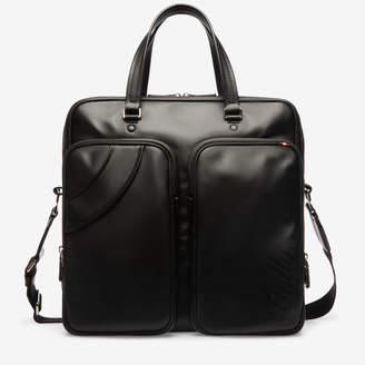 Bally Selton Black, Men's calf leather business bag in black