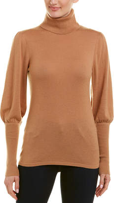 BCBGMAXAZRIA Turtleneck Wool-Blend Sweater