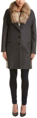Soia & Kyo Suvi Wool-Blend Coat