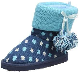 Pumpkin Patch Spot Winter Warmer, Girls' Snow Boots,(33-34 EU)