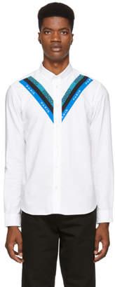Kenzo White Logo Casual Shirt