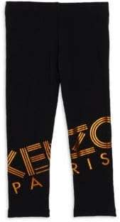 Kenzo Little Girl's & Girl's Logo Leggings