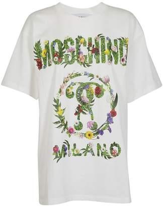 Moschino Floral Logo T-shirt