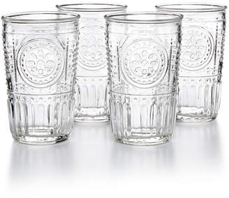 Bormioli Romantic 4-Pc. Tumbler Set