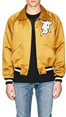 Fear Of God Men's Appliquéd Satin Bomber Jacket